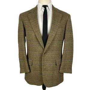 Brooks Brothers Makers Tweed Sport Coat 40R Plaid